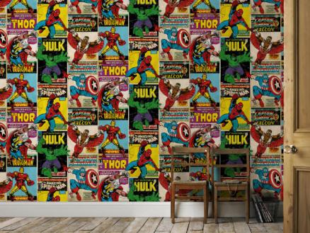 papier peint papier Breakout multicolour
