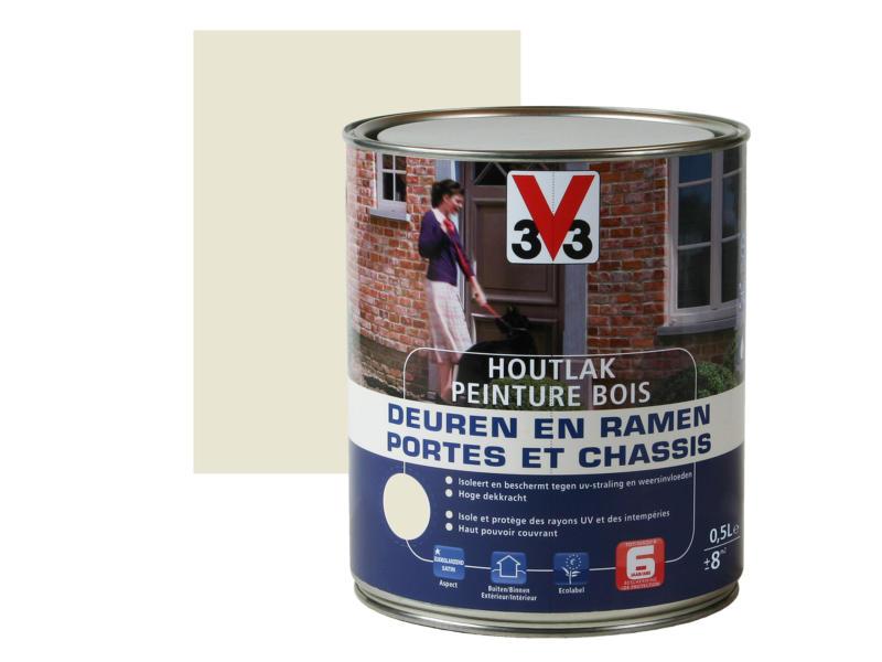 V33 peinture bois portes & châssis satin 0,5l moonlight