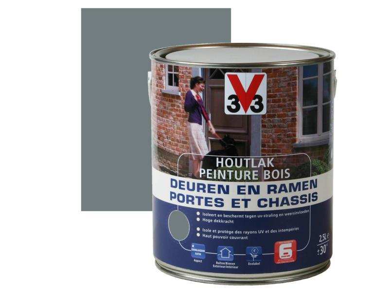 V33 peinture bois portes & châssis satin 2,5l waterfall