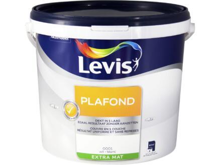 Levis peinture plafond extra mat 10l blanc