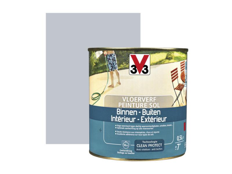 V33 peinture sol satin 0,5l hirondelle