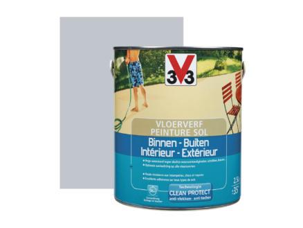 V33 peinture sol satin 2,5l hirondelle
