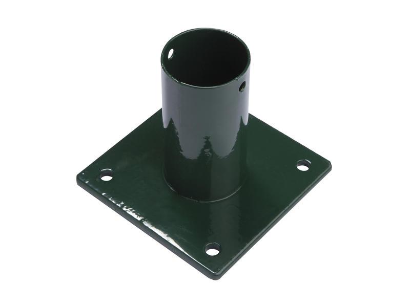 Giardino pied pour poteau rond de 48mm vert