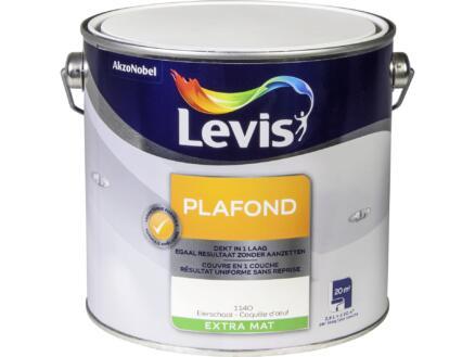 Levis plafondverf extra mat 2,5l eierschaal