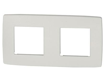 Niko plaque de recouvrement double Original white