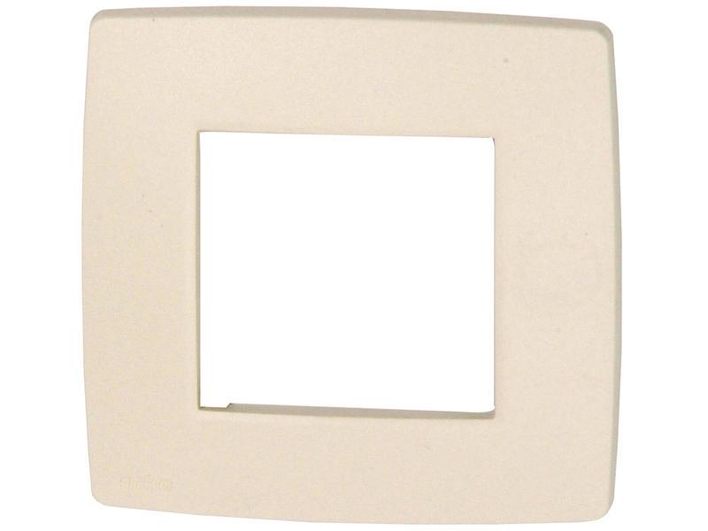 Niko plaque de recouvrement simple Original cream