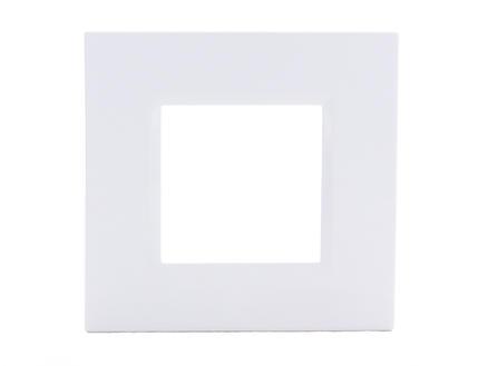 Bticino plaque simple LivingLight blanc