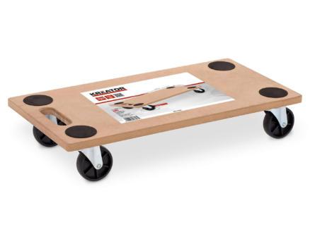 Kreator plateau roulant 58x29,5 cm 200kg