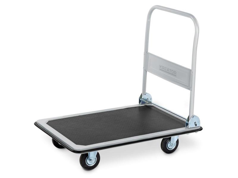 Kreator plateauwagen vouwbaar 300kg