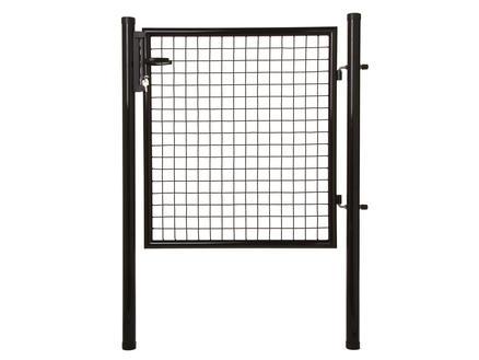 Giardino poort 100x175 cm zwart