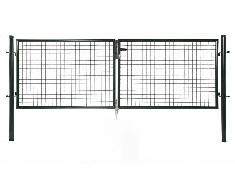 Giardino portillon double 300x125 cm vert