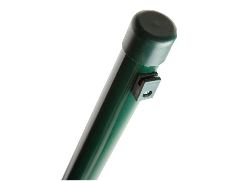 Giardino poteau avec supports 175x4 cm rond vert