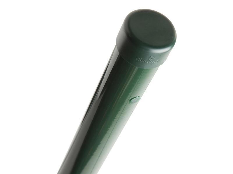 Giardino poteau grillage 180x4,8 cm rond vert