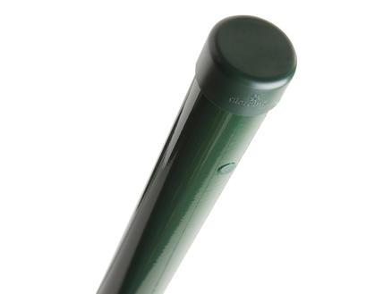 Giardino poteau grillage 240x4,8 cm rond vert