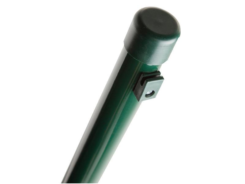 Giardino poteau grillage avec guide fil 200x3,4 cm vert