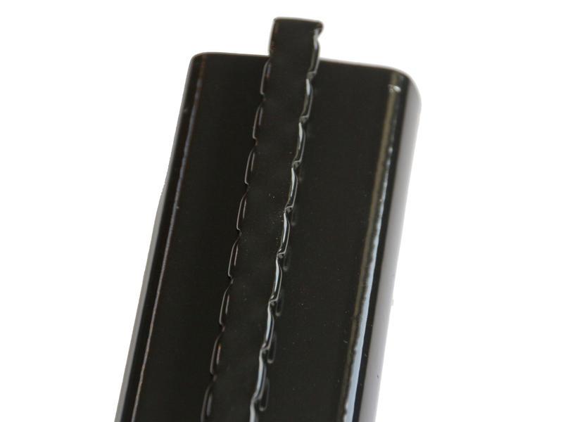 Giardino poteau profilé 150x4,8 cm noir