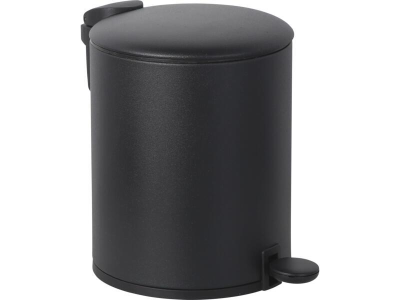 Practo Home poubelle à pédale 5l noir