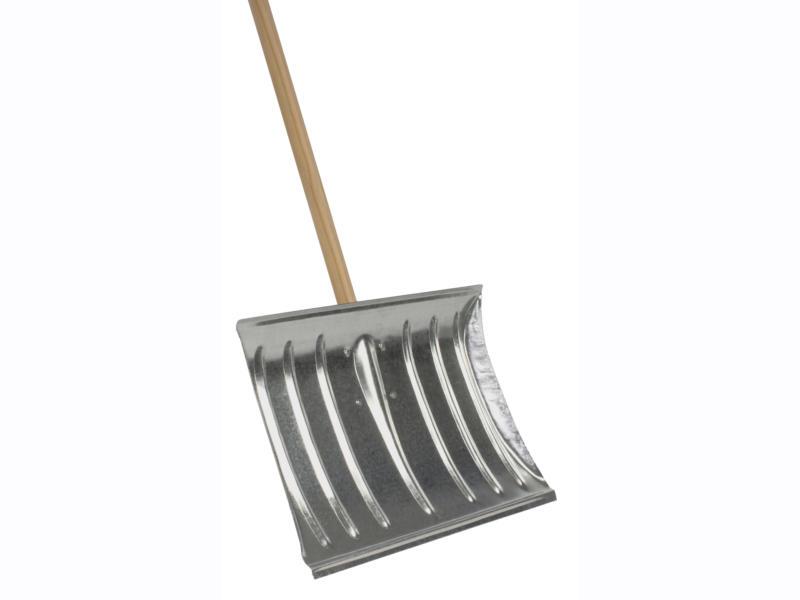 AVR poussoir à neige 45cm métal + manche 160cm