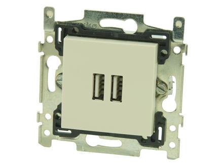 Niko prise chargeur USB intelligent Original cream