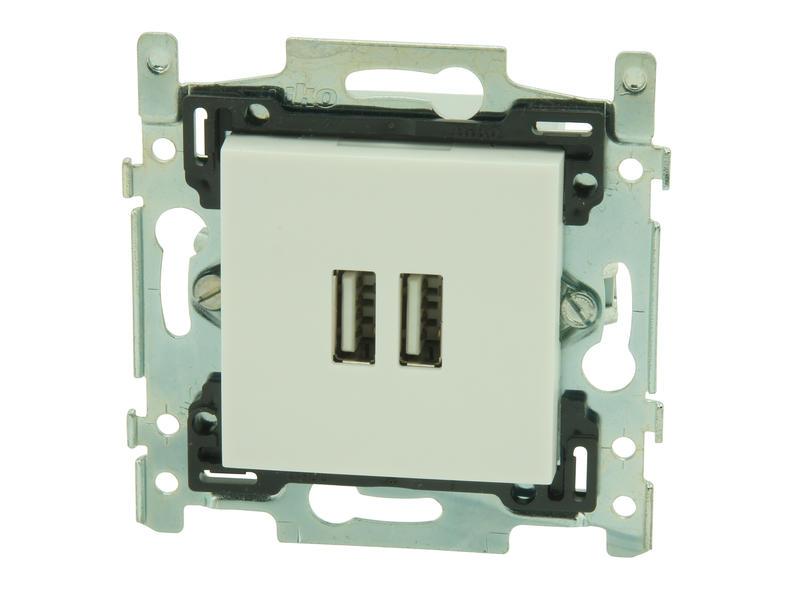 Niko prise chargeur USB intelligent Original white