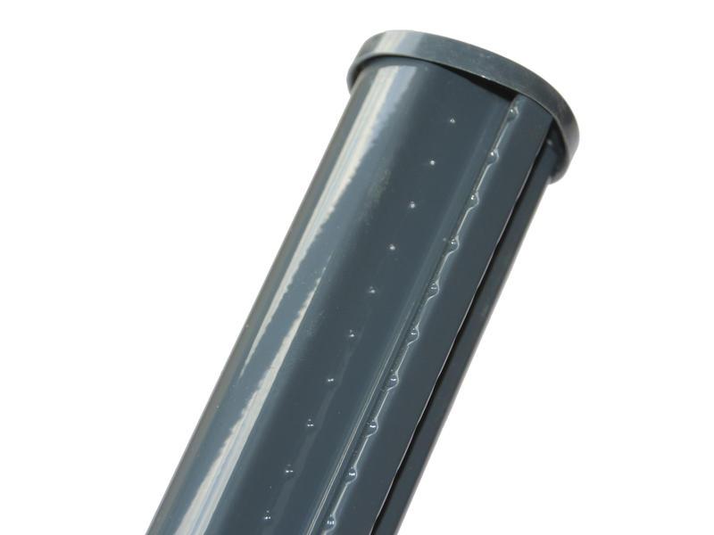 Giardino profielpaal 120x4,8 cm antraciet