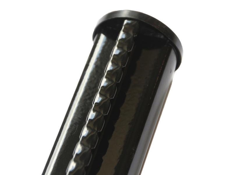 Giardino profielpaal 120x4,8 cm zwart