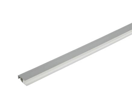 profilé multifonction pour Dumaclin siding 2,5m gris laqué