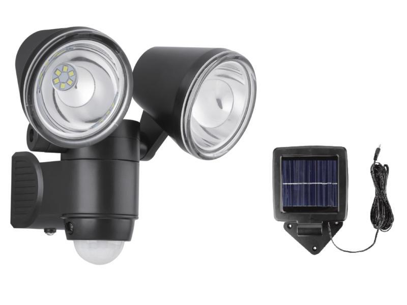 projecteur LED solaire avec détecteur PIR 6W 360lm