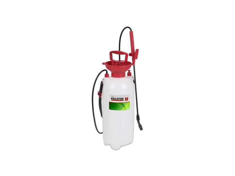 Kreator pulvérisateur à pression 8l blanc/rouge