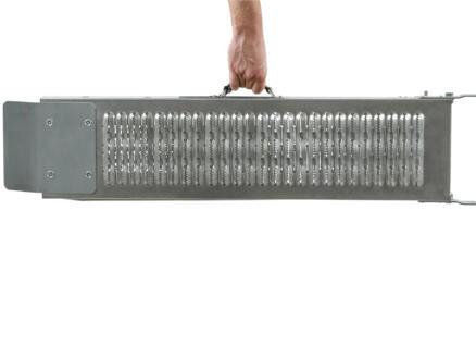 Practo Garden rampe de chargement pliable 190cm acier galvanisé