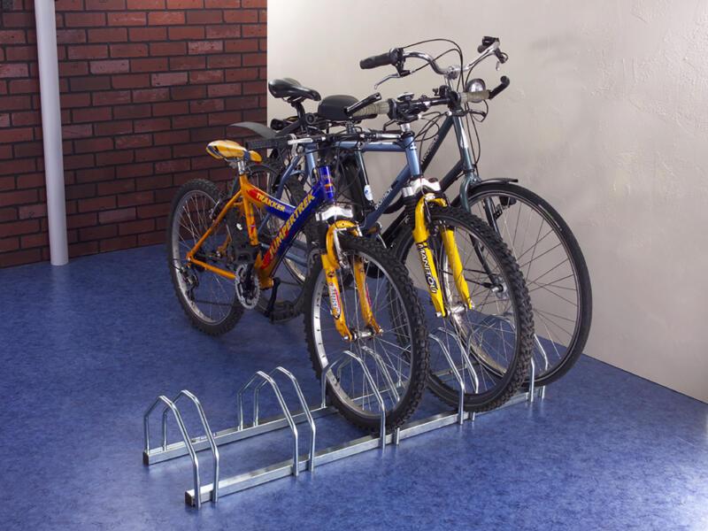 Mottez range-vélos double face 5 vélos