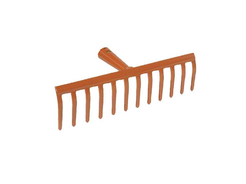 AVR râteau de jardin 31cm 12 dents sans manche