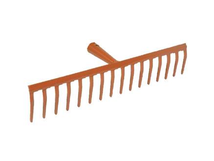 AVR râteau de jardin 41,5cm 16 dents sans manche