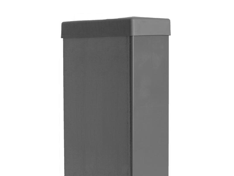 Giardino rechthoekige paal 60x120 mm 260cm grijs