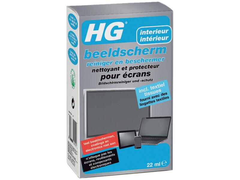 HG reiniger en beschermer beeldscherm 22ml