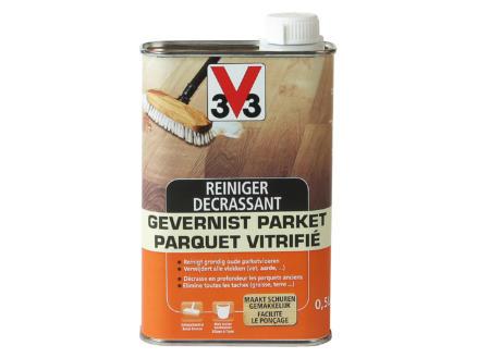 V33 reiniger gevernist parket 0,5l kleurloos