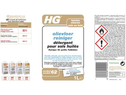 HG reiniger olievloer 1l