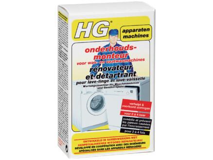 HG rénovateur et détartrant  lave-linge et lave-vaisselle 200ml
