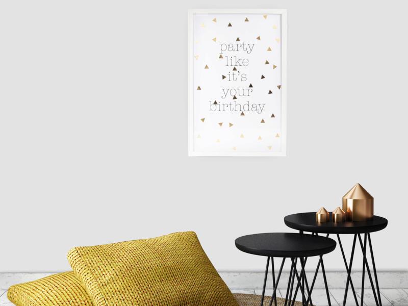Art for the Home reproduction encadrée 40x60 cm party