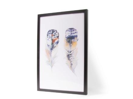Art for the Home reproduction encadrée 40x60 cm plume