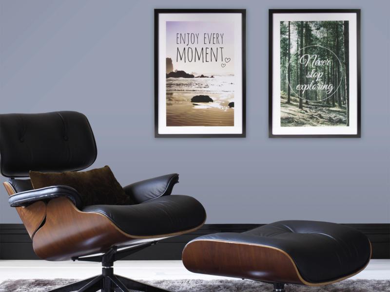 Art for the Home reproduction encadrée 50x70 cm enjoy