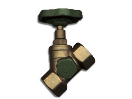 Saninstal robinet d'arrêt avec purgeur FFP 1/2