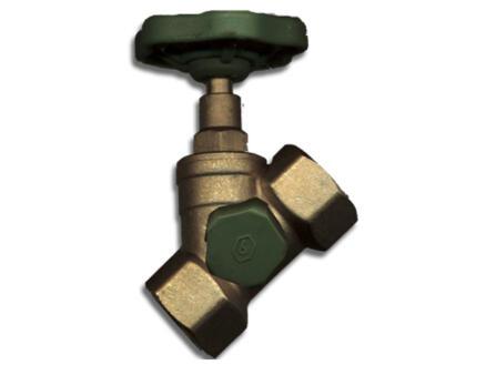 Saninstal robinet d'arrêt avec purgeur FFP 3/4