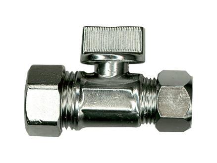 Saninstal robinet d'arrêt droit à boule 15x10 cm