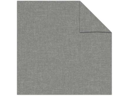 Decosol rolgordijn lichtdoorlatend 120x190 cm structuur grijs