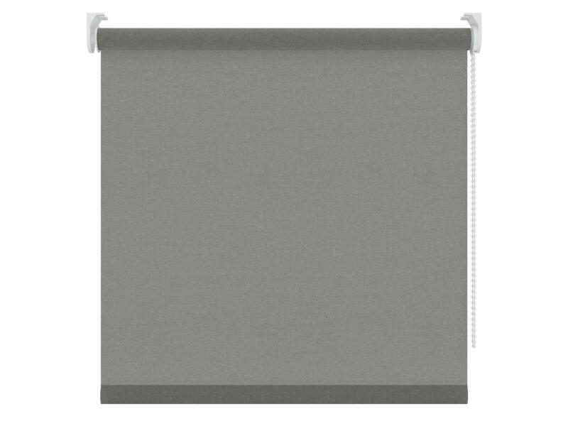 Decosol rolgordijn lichtdoorlatend 90x190 cm structuur grijs