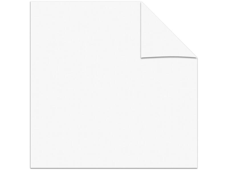 Decosol rolgordijn transparant 90x250 cm wit
