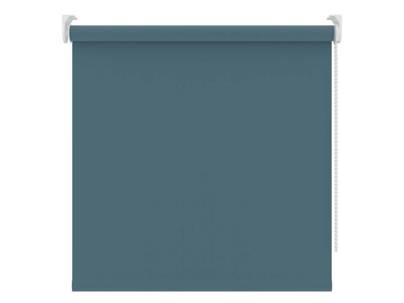 Decosol rolgordijn verduisterend 120x190 cm grijsblauw