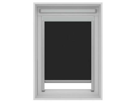 Decosol rolgordijn verduisterend dakraam 114x118 cm zwart