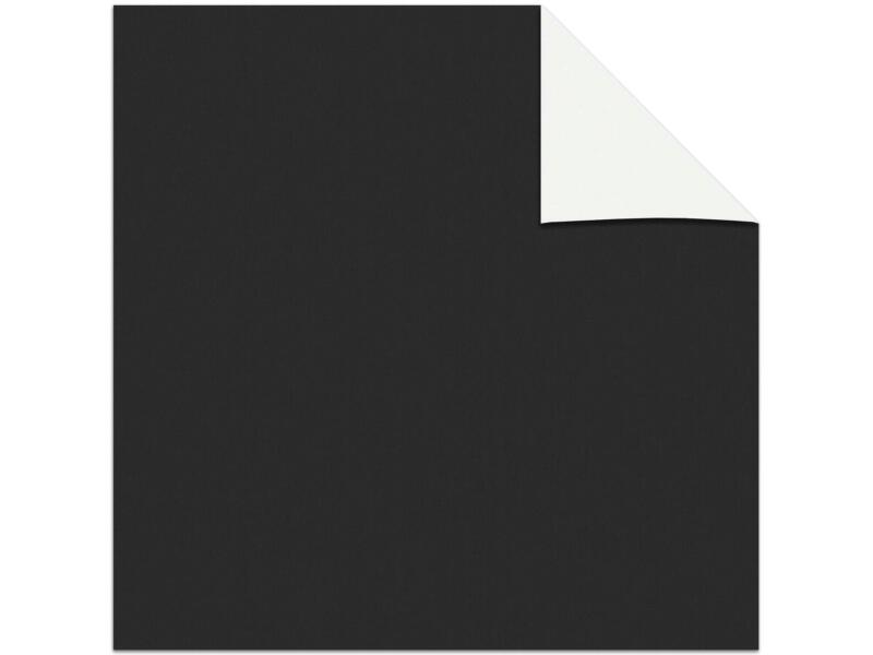 Decosol rolgordijn verduisterend dakraam 78x98 cm zwart